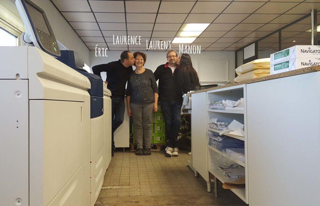 Photo famille Decomet imprimerie numerique lyon 2